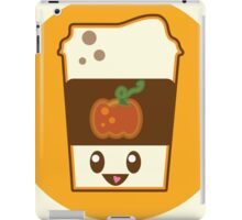 Kawaii Pumpkin Spice Latte iPad Case/Skin