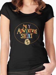 My Adventure Shirt Women's Fitted Scoop T-Shirt
