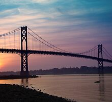 Mt. Hope Bridge by Kevin  McIntyre