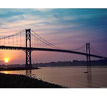 Mt. Hope Bridge Photographic Print