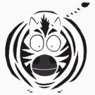 Zebra on the loose by Letje van Rhijn