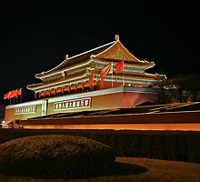 0117 - Beijing Tiananmen Square by Ray Mosteller
