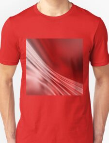 Red abstract pattern Unisex T-Shirt