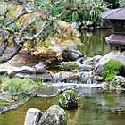 Pagoda and Pond by keng612