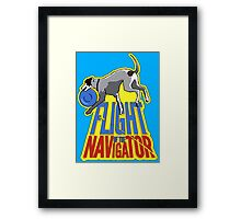 Flight of the Navigator #1 Framed Print