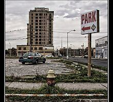 Detroit City, downtown by Matthew Bridge-Wilkinson