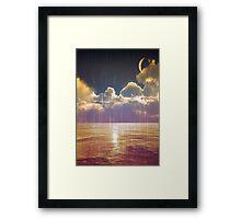 Magical Landscape Framed Print