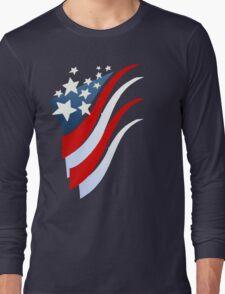 Stripes N Stars Long Sleeve T-Shirt