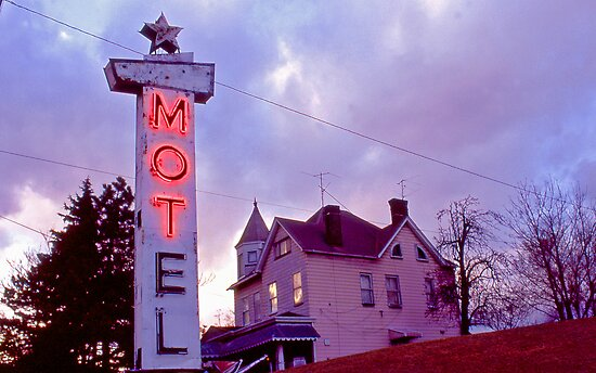MOTel - Route 30 by Steven Godfrey