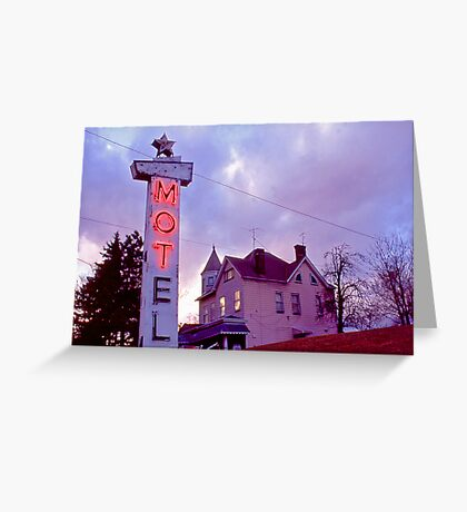 MOTel - Route 30 Greeting Card