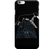 Flight of the Navigator #2 iPhone Case/Skin