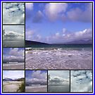 Hebrides Sky and Sea Collage by BlueMoonRose