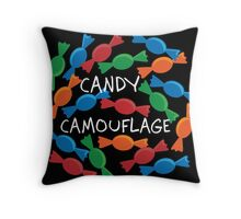Candy Camouflage!!! Throw Pillow