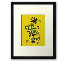 ET Loves Music Framed Print