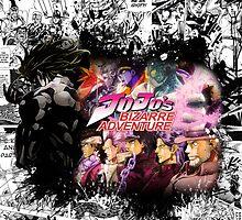 JoJos Bizarre Adventure - Adventure To Dio by ProdigyJin