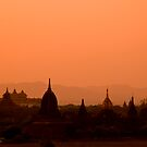Bagan Sunset by Kerry Dunstone
