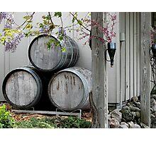 Bowers Harbor Vineyard Photographic Print