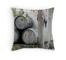 Bowers Harbor Vineyard Throw Pillow