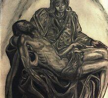 Michelangelo's Pieta                                                                         by Jedro