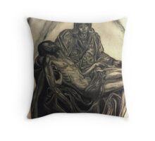 Michelangelo's Pieta                                                                         Throw Pillow