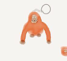 """Kipling"" key chain doodle by pr3100"