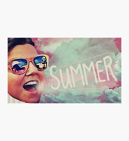 OMG Summer Photographic Print