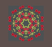 Red floral pattern Unisex T-Shirt
