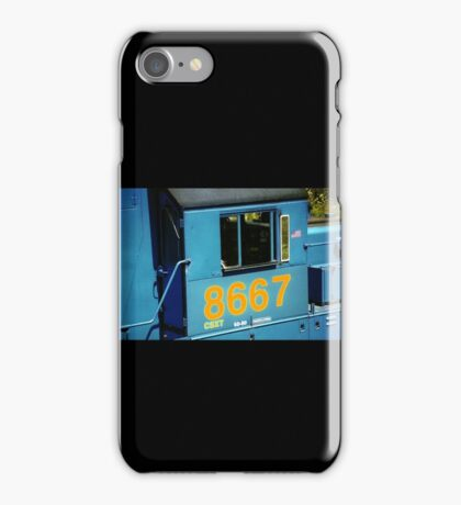 Railroad Locomotive Conrail CSX iPhone Case/Skin