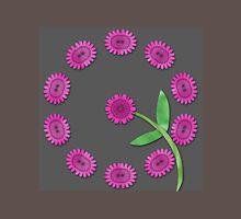 Pink floral pattern Unisex T-Shirt