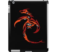 Flame Charged Dragon iPad Case/Skin