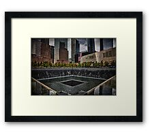 North Tower 9/11 Memorial Framed Print