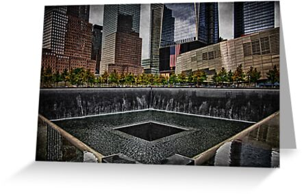 North Tower 9/11 Memorial by Chris Lord
