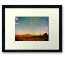 Dangars Lagoon, Northern Tablelands, NSW, Australia Framed Print