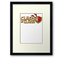 Clash of Clan Barbarian King Army  Framed Print