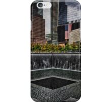North Tower 9/11 Memorial iPhone Case/Skin