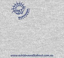 Echidna Walkabout logo blue horizontal text by Echidna  Walkabout