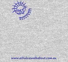 Echidna Walkabout logo blue horizontal text Hoodie