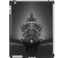 Mirror photography, black and white iPad Case/Skin