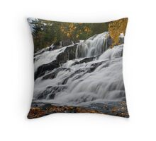 Bond Falls New Throw Pillow