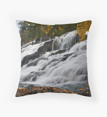 Bond Falls New Throw Pillow