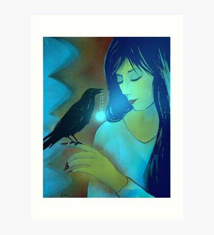 Ravens Disciple Art Print