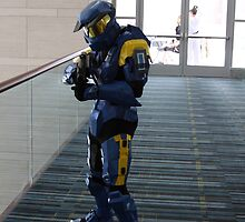 Halo Cosplayer by Okeesworld