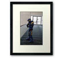 Halo Cosplayer Framed Print