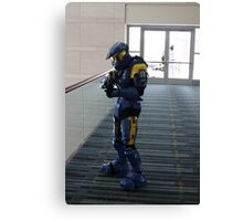 Halo Cosplayer Canvas Print