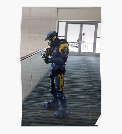 Halo Cosplayer Poster