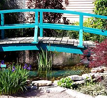 Bridge at Monet Gardens by BarbL