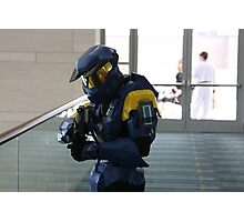 Halo Cosplay Close-up Photographic Print