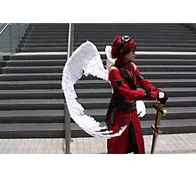 Noble Angel Side Profile Photographic Print
