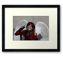 Kawaii  Nobel Angel Framed Print