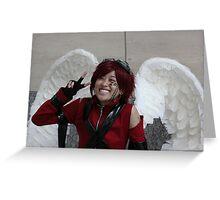 Kawaii  Nobel Angel Greeting Card